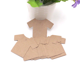 $enCountryForm.capitalKeyWord NZ - 500Pcs 6*5.5cm 5.5*7cm DIY Paper Tags Crown And Clothes Shape Label For Clothing Hang DIY Gift Christmas Wedding Party