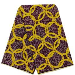 Dernière Qualité Nigéria Ankara Africain Cire Prints Tissu Hollandais Cire Tissu Cires Hollandaises 100% Coton robe de mariée / robe de soirée Tissu Cire