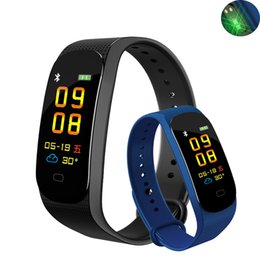 Wholesale Fitness Smart Watch Women Men Tracker Heart Rate Monitor Blood Pressure Running Swimming Touch Sport Intelligent Watch Braclelet