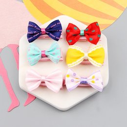 $enCountryForm.capitalKeyWord NZ - Children's hairpin headdress princess lady cute jewelry 16 color baby girl cany color hairpin design hair bow children's tiara children hair