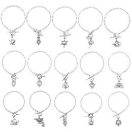 $enCountryForm.capitalKeyWord UK - 15 Styles Beads Cage Locket Pearl Bracelets Dangle Bracelets Lock In Oyster Pearl Cage Locket Pearl Jewelry For Women Wholesale