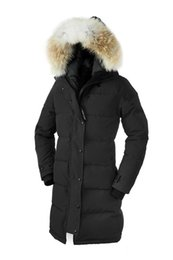 Cheap women s hooded jaCket online shopping - 2018 New Hot Sale Big Fur Women s Shelburne Down Parka Winter Jacket Arctic Parka Top Brand Luxury For Sale CHeap With Price