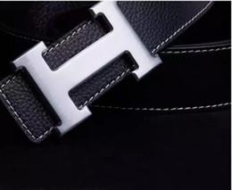 Опт Дизайнер ремни роскошные ремни для мужчин большая пряжка пояса топ мода мужские кожаные ремни Оптовая бесплатная доставка D3