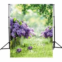 vinyl photography backdrops spring 2018 - 3x5ft Vinyl Photography Background Spring Outdoor Flowers Photographic Backdrops For Studio Photo Props Cloth 1x1.5m che