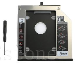 thinkpad hard drives 2019 - NEW SATA 2nd HDD Hard Drive Caddy Bay For IBM Thinkpad T400s T500 T410 W500 #K400Y# DropShip cheap thinkpad hard drives