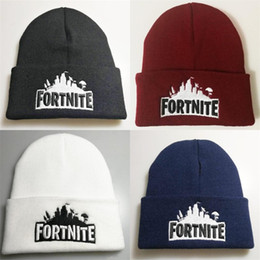 cb43ff207f3 Hip Hop The Fortress Night Embroidery Costume Winter Soft Woolen Beanie  Women And Men Multi Color Hat Keep Warm Cap 6 5lh aa