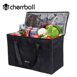 Discount extra packs - Cherrboll Extra Large Size Ice Pack For All Seasons Reusable Grocery Shopping Box Bags Large Cooler Box Bags (43*78*38cm