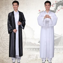 Chinese National Hanfu Black White Ancient China Costume Hanfu Men Clothing Traditional National Suit Stage Costumes  sc 1 st  DHgate.com & Shop Traditional Chinese Costume Men UK | Traditional Chinese ...