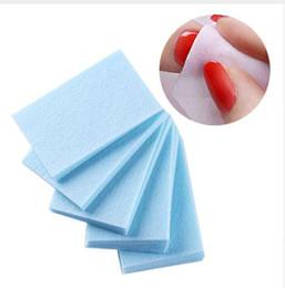 600Pcs Lint-Free Color Nail Gel Polish Remover Cotton Wipe Nail Art Tips Nail Pads Pads Soak Off Strumento di rimozione in Offerta