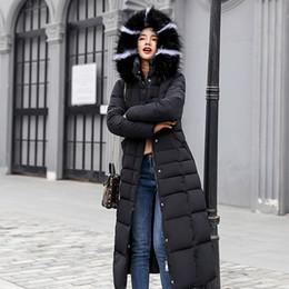 $enCountryForm.capitalKeyWord Australia - New casual winter Down Cotton Jackets 2018 long Winter jacket Women fur collar parkas female Slim Winter Warm Coat Womens 90401