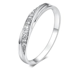 28342980384bd Simple White Gold Engagement Rings Online Shopping   Simple White ...