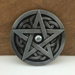 Star Belts Australia - BuckleHome star belt buckle celtic belt buckle with pewter finish FP-03384 with continous stock free shipping