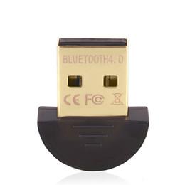 Usb Dongle Receiver NZ - Mini USB Bluetooth Adapter V 4.0 Dual Mode Adaptador Bluetooth Dongle Wireless Bluetooth Receiver Computer Adapter For Win7 8 10