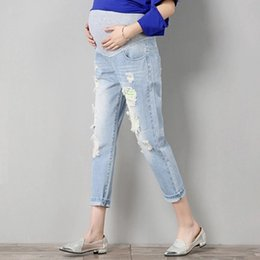 eaae3bbb189 Nurse Pants Canada - Maternity Pants Jeans Pregnant Trousers Nursing Prop  Belly Legging Pregnancy Clothing Overalls