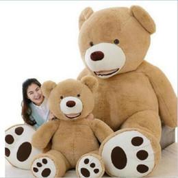 $enCountryForm.capitalKeyWord Australia - Huge Size 160cm USA Giant Bear Skin Teddy Bear Hull , Super Quality ,Wholesale Price Selling Toys For Girls