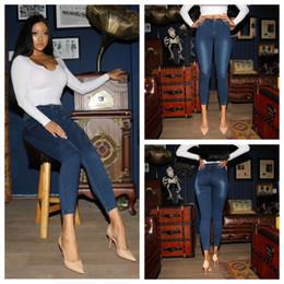 737281349bb Ripped Jeans For Women Skinny Denim Capri Jeans Femme Stretch Plus Size  Female Vaqueros Mujer Slim Pencil Pants For Women