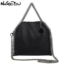 b72bd3506c9f NIGEDU Design Women Handbag Small Bag Female Shoulder Bag Chain Soft Pu  Leather Crossbody Messenger Bags Women Totes Clutches Y18102203