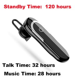 Chinese  Bluetooth Earphone Wireless Cell Phones Headset with Mic Noise Canceling In-ear Earbuds Stereo Car Driving Headphones for iPhone Samsung manufacturers