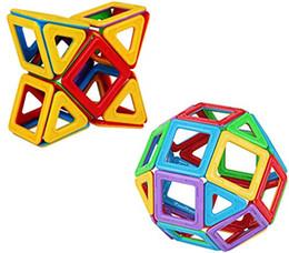 Опт 30 PCS Magnetic Tiles Set, STEM Building Block Дошкольный образовательный строительный комплект, 3D магнитные игрушки для детей