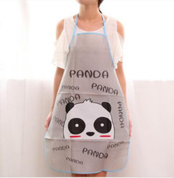 Wholesale Hot Durable Women Waterproof Cartoon Kitchen Cooking Bib Apron