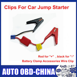 $enCountryForm.capitalKeyWord Australia - High Quality Red-black Clips For Car Jump Starter Auto Emergency Car Battery Clamp Accessories Wire Clip Free Shipping
