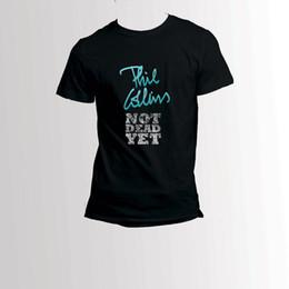 c96b3eec7 Phil Collins Genesis Music Chanteur La Légende T-Shirt Tee Mens 2018 mode  marque T-shirt O-Neck 100% coton T-shirt Tops Tee personnalisé
