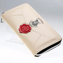 Harry potter note online shopping - Women Wallet Harry Potter Letter PU Leather Fashion Female Wallets Zipper Around Long Lady Clutch Coin Purse Card Holder