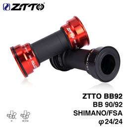 Wholesale HITO ZTTO BB92 BB90 BB86 MTB Road mountain bike bicycle Press Fit Bottom Brackets for Parts Prowheel mm Crankset crankset