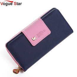 vogue wallets Australia - Vogue Star 2017 Women Brand Wallets Famous Designer PU Leather Purses Multi Colors Women Wallets Hot selling YK40-21