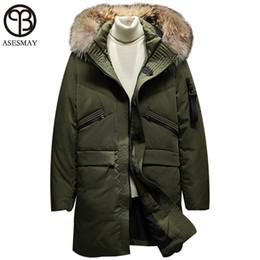 2bcb8cfe7bb2 Asesmay Mens Down Parka Feather Jacket Men s Down Jackets Wellensteyn Men  Winter Down Jacket Goose Russian Military Winter Coat