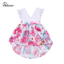 5c902494f479 Family Match Christmas Toodler Kids Baby Girls Lace Sleeveless Floral Romper  Dress Party Dresses Cotton Children Clothing