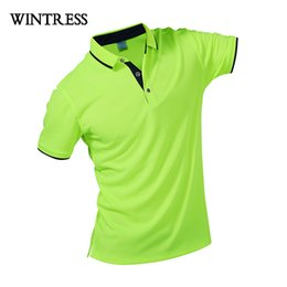 4677e9ffebd Wintress Fashion Style Men Polo Shirt Contrast Color Collar Short Sleeve  Fitness Solid Male Polo Top Clothes Custom Print