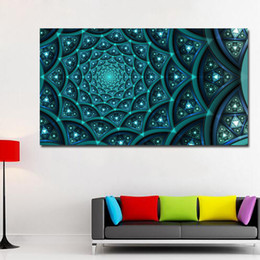 Art Canvas Prints Australia - 1 Piece Art Sailing wall painting HD Printed canvas art abstract psychedelic art space cloud Painting No Framed