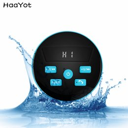 $enCountryForm.capitalKeyWord NZ - Portable Waterproof Bluetooth Speaker IPX7 Wireless Tub Suction With Breathing Light FM For Shower Kitchen Pool Bathroom Car MP3 Speakers