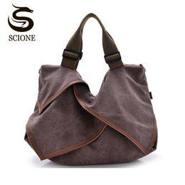 9d6c2115a20d 2018 Top Quality 100% Famous Brand New Women Handbags Canvas Bag Female  Large Capacity Cool Bags Hobos Shape Soft Totes XC316