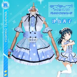 Wholesale love live cosplay for sale - Group buy STOCK Anime Love Live Sunshine Aqours Missingo Two To One Eleven Words Interlud Cosplay Costume Halloween
