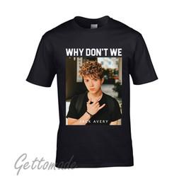 20e76470 Good T Shirts New Why Don`T We American Pop Jack Avery Custom Wholesale  Men's T-Shirt Short Sleeve Top O-Neck T Shirt For Men