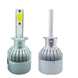 H11 online shopping - Car V C6 H4 LED Bulb H1 H3 H7 H11 H13 Hb3 Hb4 Headlight Kit
