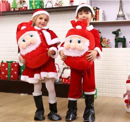 $enCountryForm.capitalKeyWord Canada - Unisex Drawstring Bag Packing Bag Santa Claus Small Big Christmas Gift Bags Kids Party New Year Gift Holders Bag DHLFree shipping
