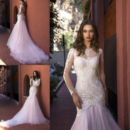 Blush Color Mermaid Wedding Dresses Australia | New Featured Blush ...