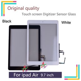Ipad sensors online shopping - 9 quot Orignal Touch Screen For iPad Air For ipad Digitizer Sensor Glass Panel For ipad Air A1474 A1475 Tablet Touch