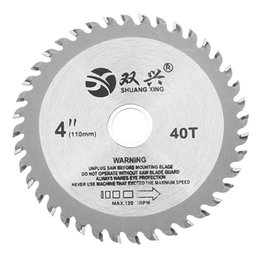 inch circular saw NZ - 4 Inch 40 Teeth Circular Saw Blade Acrylic Plastic Woodworking Cutting Blade