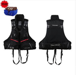surfing clothes Australia - DF-3104 Fishing Vest Life Jacket Buoyancy 80N 120KG Detachable Life Vest Fishing Vest Clothing Fishing Tackle