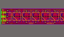 Modules Design Canada - Other Design WS2812B tri-color LED schematic and PCB RGB full-color ws2812 module PCB ws2812