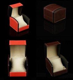 PU кожаный часы коробка подарочные коробки, часы чехол с подушкой часы упаковка для браслет кольцо серьги наручные часы коробка