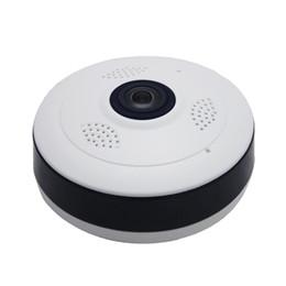 Wifi color Webcam online shopping - Hot Fisheye VR Panoramic Camera HD P MP Wireless Wifi IP Camera Home Security Surveillance System Camera Wi fi Degree Webcam V380