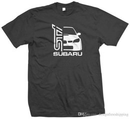 Hottest Design T Shirt NZ - Cool T Shirts Designs Best Selling Casual Hot Wrx Impreza Men Short O-Neck Tee Shirts