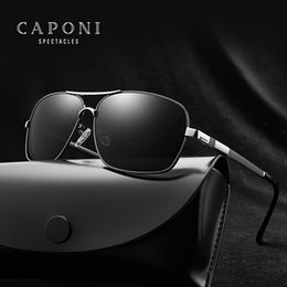 e07e41211a8 CAPONI Brand Designer HD Polarized Oculos Men Sunglasses UV400 Protection  Mirror Sun Glasses Male Driving Fishing Eyewear 8721
