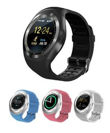 $enCountryForm.capitalKeyWord Australia - Y1 Smart Watches Luxury Bluetooth Smartwatch Wrisbrand Bracelet Round Touch Screen with SIM TF Card Slot for IOS Android Samsung iPhone