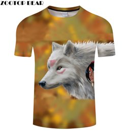 $enCountryForm.capitalKeyWord Australia - Beauty 3D tshirt Men Wolf t shirt Streetwear t-shirt Casual Tee Print Top Funny Camiseta Short Sleeve O-neck DropShip ZOOTOPBEAR